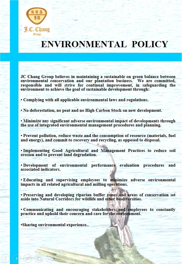 sustainability policies